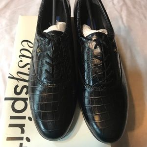 New Easy Spirit black business shoes
